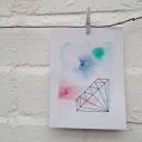 OYT- watercolour gem card